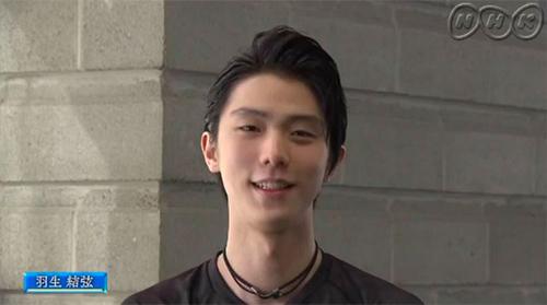 羽生結弦NHK杯ビデオメッセージ